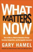 book covers what matters now