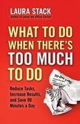 book covers what to do when theres too much to do