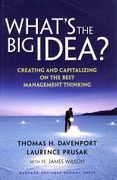 book covers whats the big idea