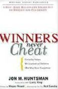 book covers winners never cheat