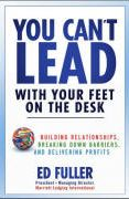 book covers you cant lead with your feet on the desk