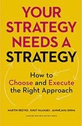 book covers your strategy needs a strategy