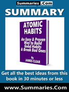summary covers atomic habits