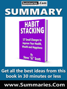 summary covers habit stacking